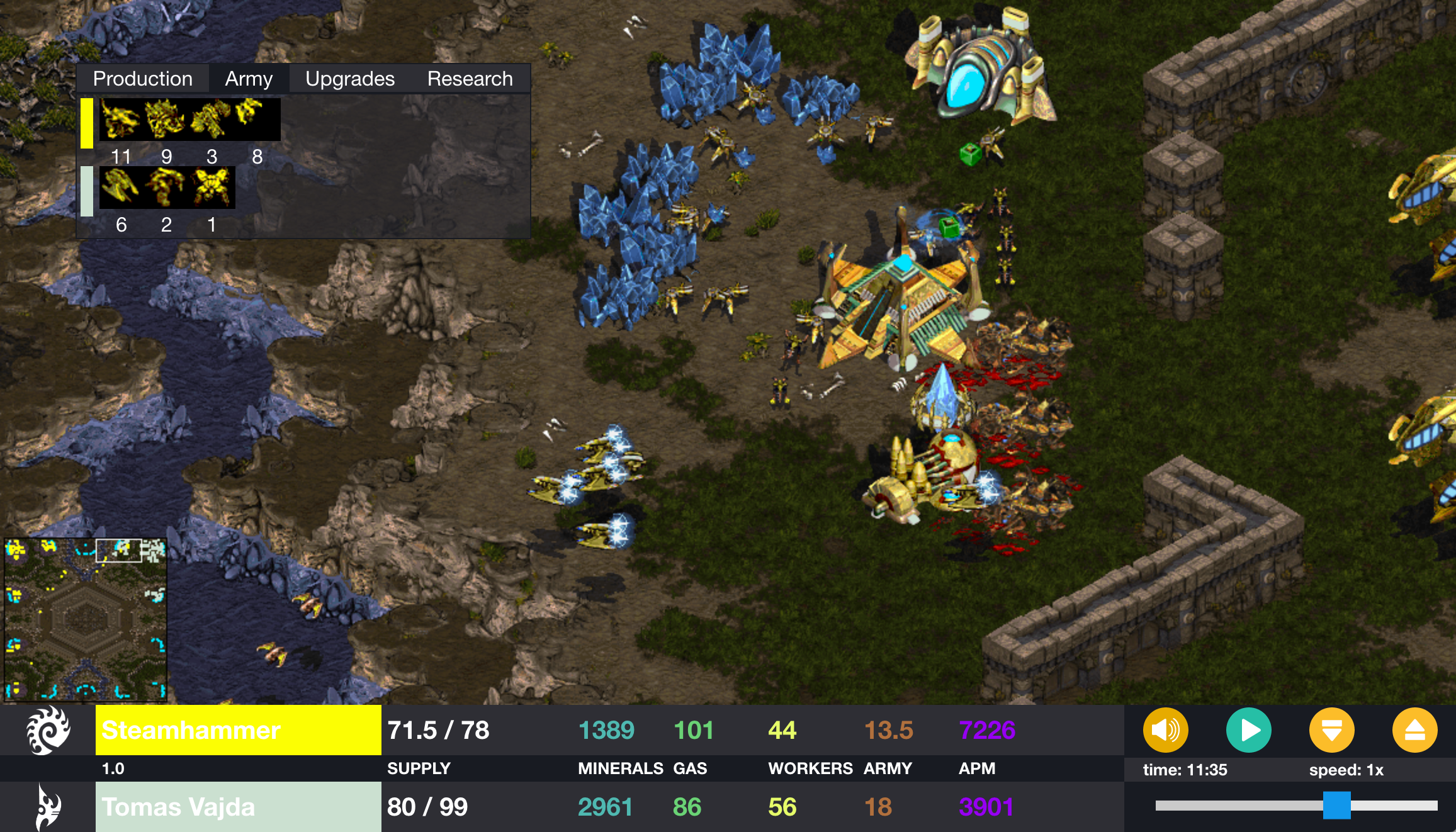 Steamhammer Hits XIMPs Natural