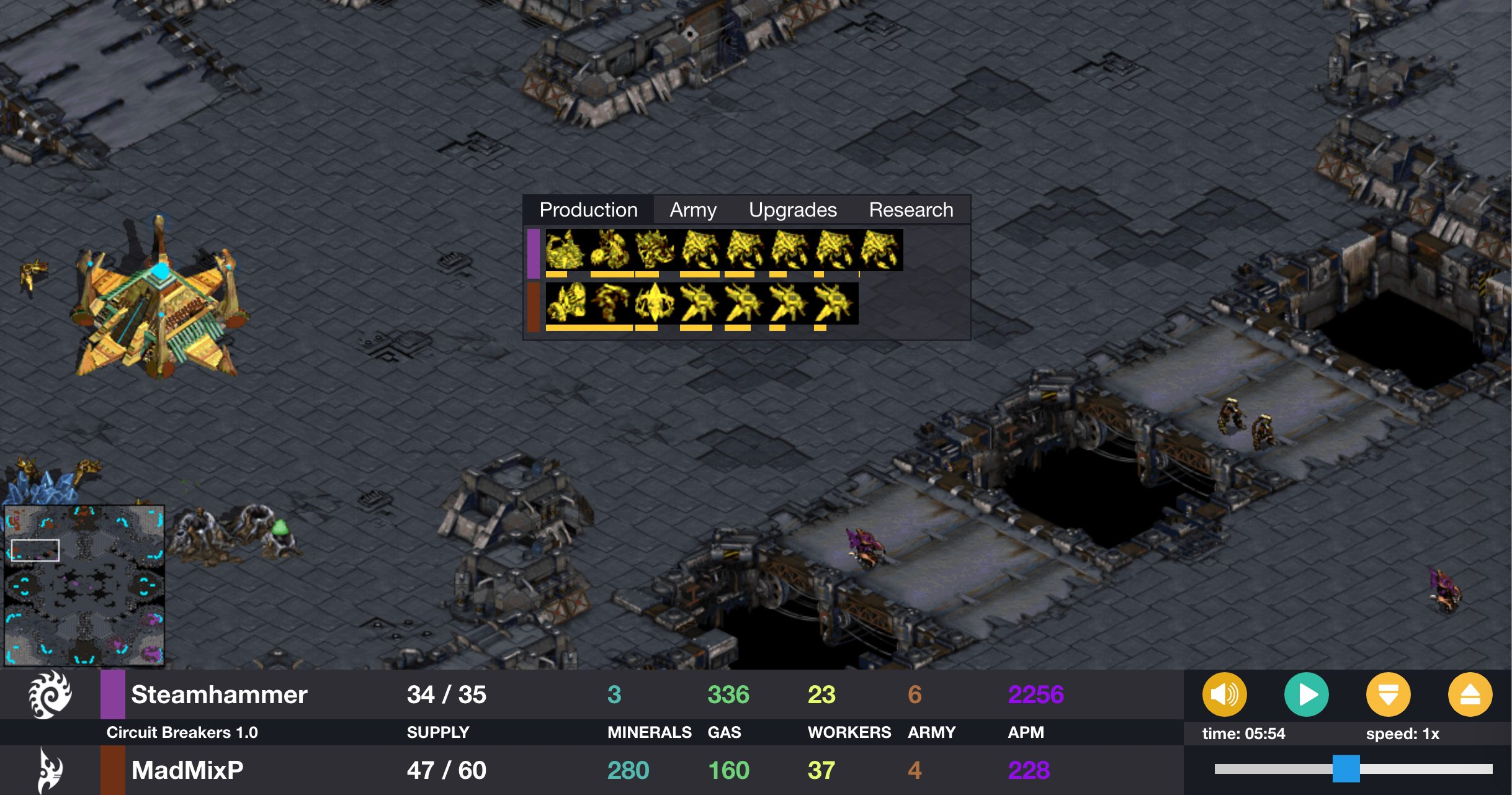 Entertaining Steamhammer Game Starcraft Ai Blog From Entering The Circuit Ahead Of Its Path Breakers Are Used Wants More Drones